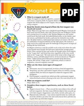 Builder Magnet Fun I  Award - PDF Do