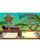 Jamii Kingdom VBS Certificate of Attendance (Set of 10)