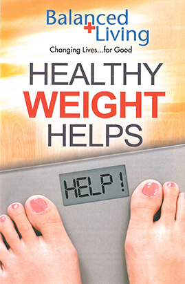 Healthy Weight Helps - Balanced Living Tract (Pack of 25)
