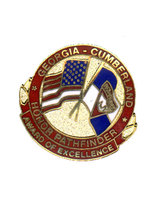 Georgia-Cumberland Conference Companion Honor Pin