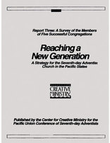 Reaching a New Generation Report #3