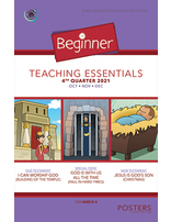 Growing Together Beginner Posters - 4th Quarter