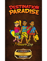 Destination Paradise VBS - Treasure Log & Stickers (set of 10)