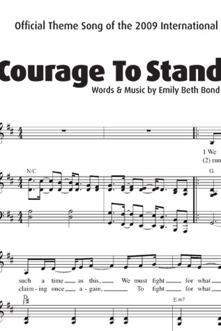 Courage to Stand Sheet Music - Downloadable