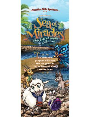 Sea of Miracles VBX Tripod Banner