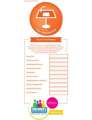The Presenter - Certification Check-off Card