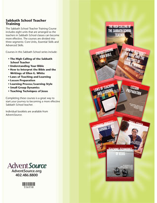 Sabbath School Teacher Training Set