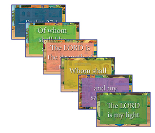 Heroes VBS Key Verse Posters (Set of 6)