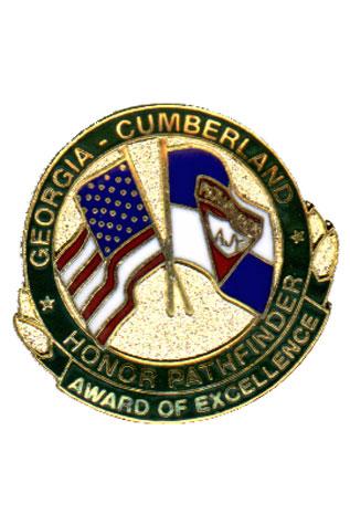Georgia-Cumberland Conference Explorer Honor Pin