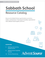 Adult Sabbath School Catalog