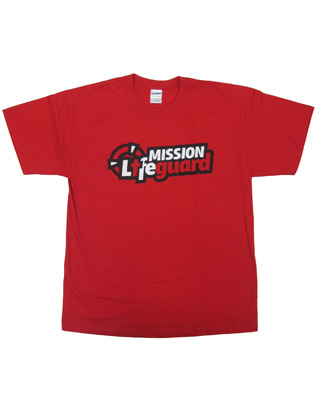 Mission Life Guard T-Shirt - Red