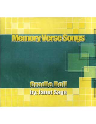 Memory Verse Songs for Cradle Roll CD