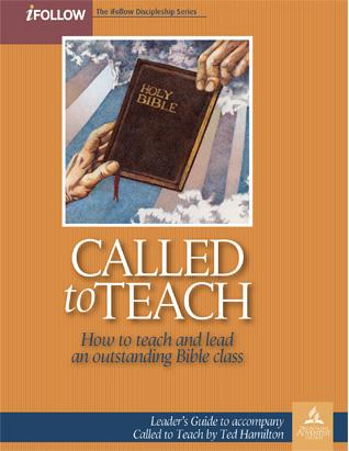 Called to Teach - iFollow Leader's Guide