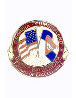 Georgia-Cumberland Conference Voyager Honor Pin