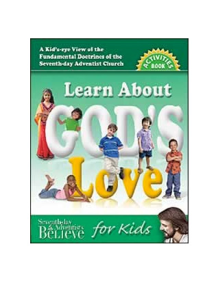 Learn About God's Love - Activity Book