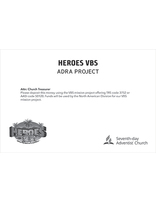 Heroes VBS Mission Project Envelope