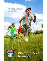 Because Jesus Loves Me Bulletin Cover (Spanish) Pack of 100