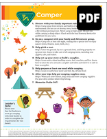 Sunbeam Camper Award – PDF Download