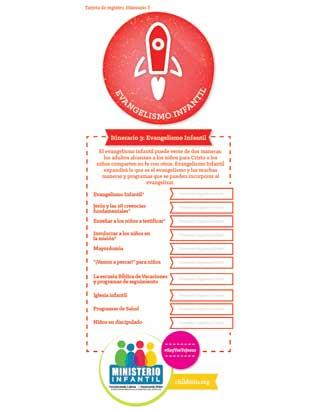 Child Evangelism - Certification Check-off Card (Spanish)