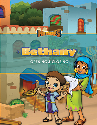 Heroes VBS Bethany Opening & Closing Program Guide