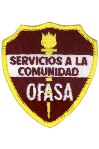 Adventist Community Service Shield Patch (Spanish)