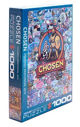 1000 Piece Puzzle - Chosen Camporee