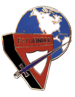 North American Division Pathfinder Logo Pin