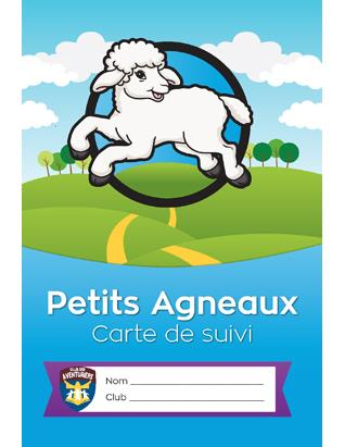 Little Lamb Record Card - French