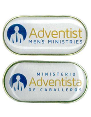 Pin del Ministerio Adventista de Caballeros