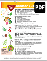 Helping Hand Outdoor Explorer Award - PDF Download