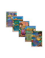 Heroes VBS Daily Action Point Posters (Set of 5)