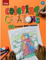 Coloring Creations: 52 Creative Bible Lessons