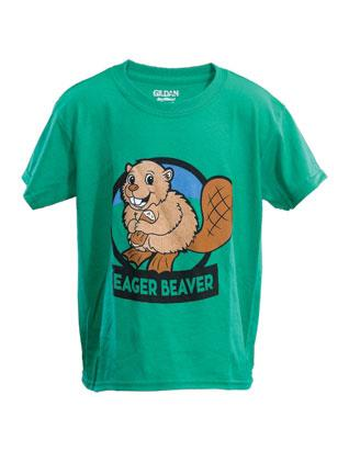 Eager Beaver Adult T-Shirt