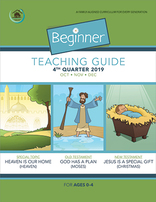 Growing Together SS Curriculum Cradle Roll Teacher's Guide 4th Qtr 2019