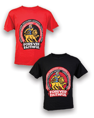 Pathfinder Museum Forever Faithful t-Shirt