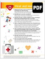 Builder First Aid Helper Award - PDF Download