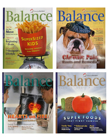 Balance Magazine Set of 4
