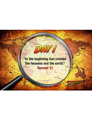 The Genesis Factor VBS: Memory Verse Posters (Set of 5)