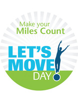 Let's Move Day Sticker