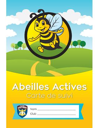 Busy Bee Record Card - French