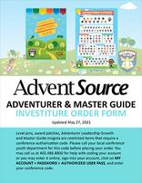 Adventurer Investiture Order Form