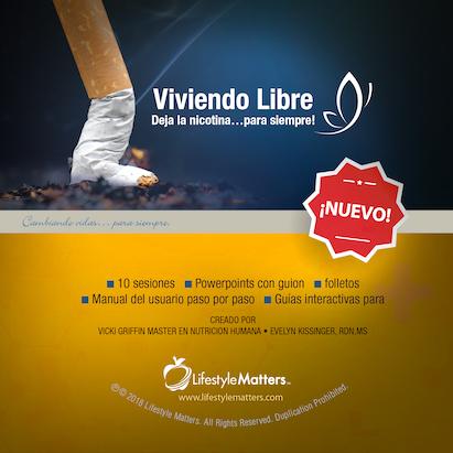 Viviendo Libre: ¡Dejar la Nicotina...para siempre! -USB