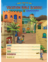 Heroes VBS Invitation Postcards (Pack of 100)