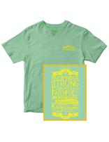 Camiseta Conquistador fuerte y fiel - en inglés