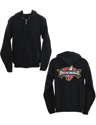 Pathfinder Sweatshirt Zip Hoodie Black