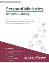 Personal / Prison / Disabilities Ministries Catalog