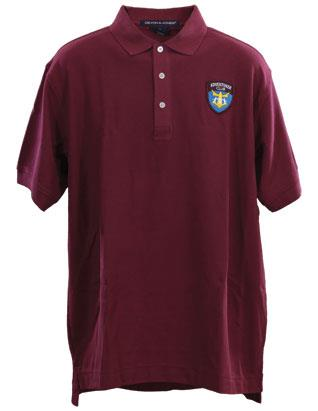 Adventurer Staff Sport Shirt (Burgundy)