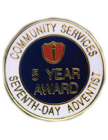ACS 5 Year Service Award Pin