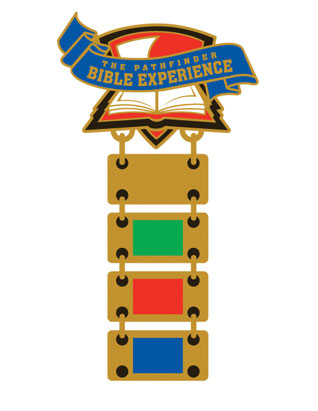 Pathfinder Bible Experience Pin