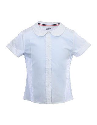 Adventurer Girls' White Uniform Blouse